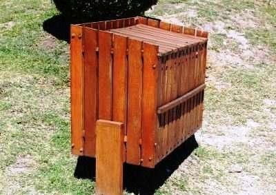 Notificaciones a comercios por cestos de residuos - Cestos de madera ...