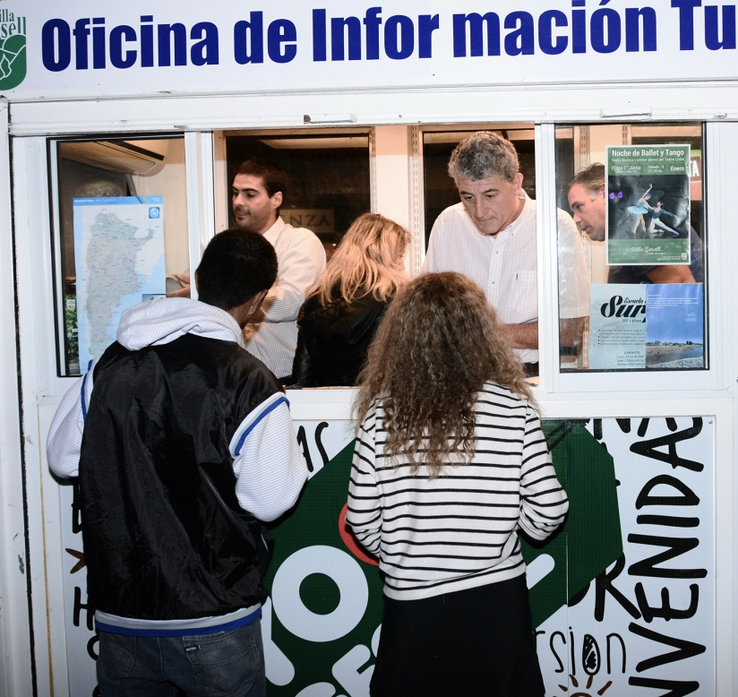 Barrera promocion a gesell en la oficina de informaci n for Oficina de informacion turistica